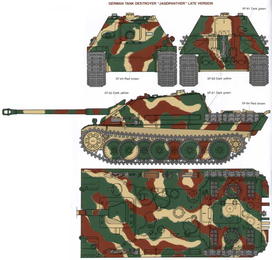 Armorama help with colors late jagdpanther