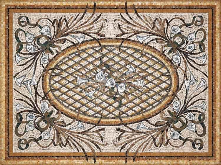 вообщем нашёл 4 коврика мозаичных в более-менее приличном разрешении - мошт...