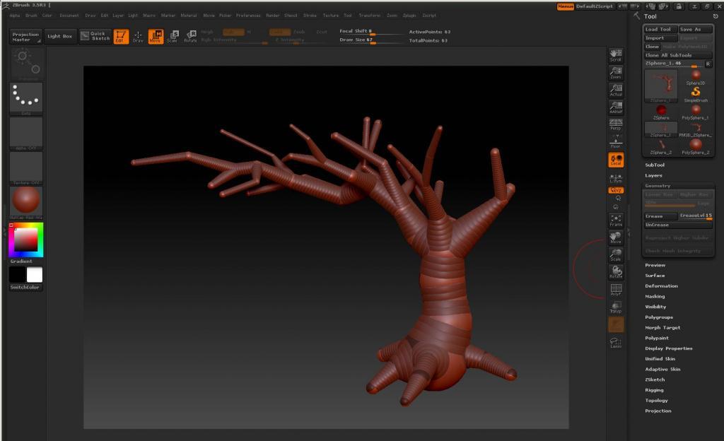 Моделирование Деревьев Программа