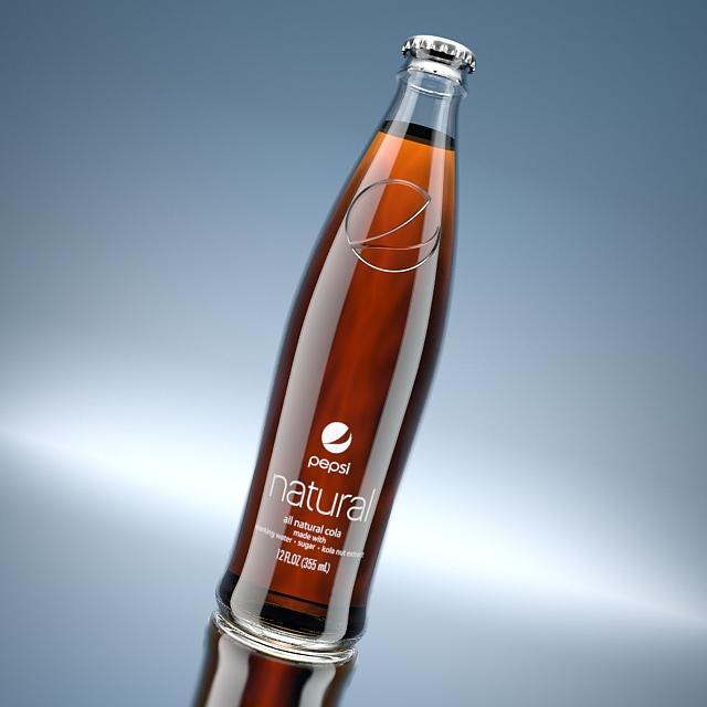 pepsi bottle.