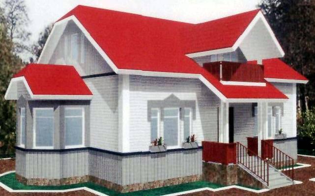 Балконы для мансардных домов фото.