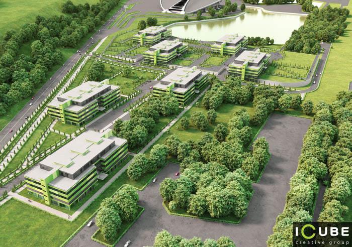 бизнес-центр крылатские холмы jansen: