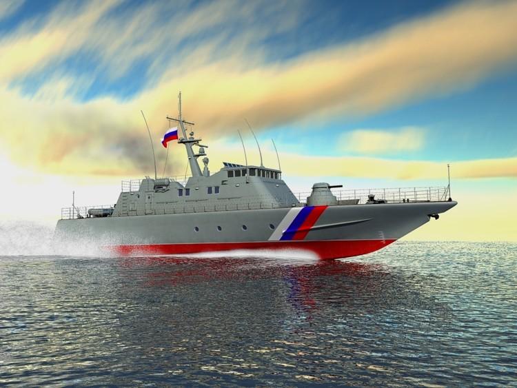 В Приморье спустят на воду пограничный сторожевой корабль