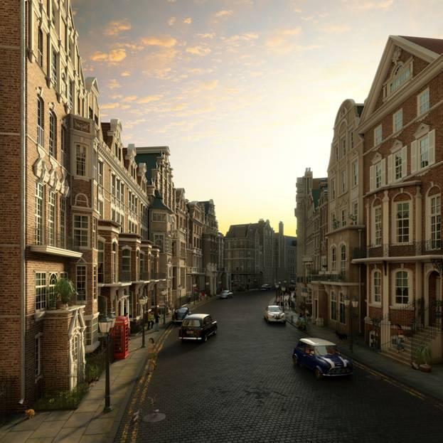 Лондона фото лондона в сепии